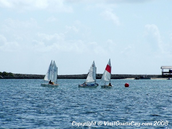 Kids Sailing, Man-O-War, Abaco, Bahamas